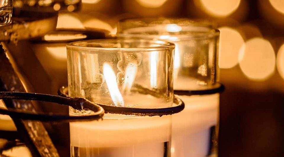 Grotto candles