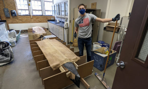 ASCE member with Much Canoe About Nothing