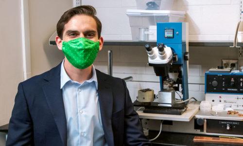 Levi Humbard wins National Defense Science and Engineering Graduate Fellowship