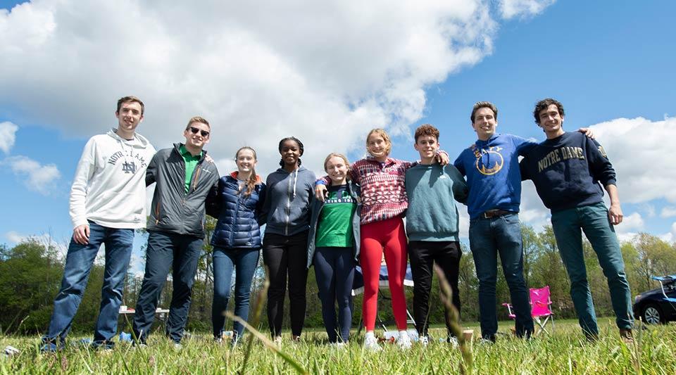 IrishSat team members